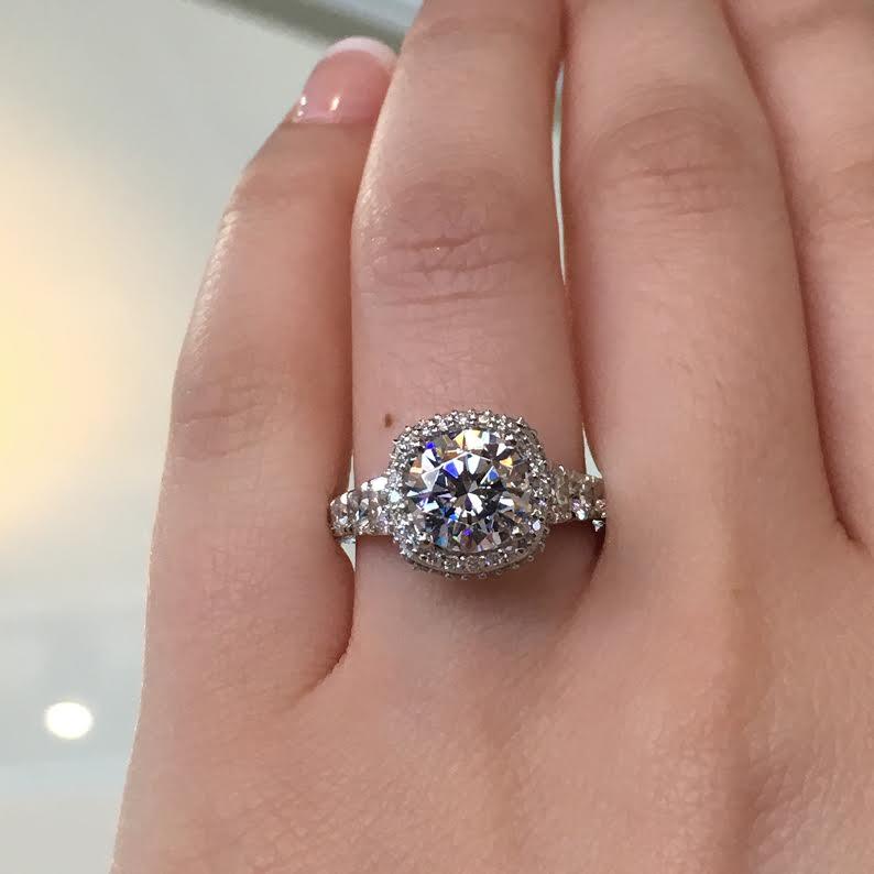 Engagement Rings Tacori: Tacori Engagement Rings RoyalT Halo Setting 1.85ctw