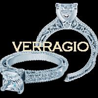 Verragio VENETIAN-5001P 0.25ctw Diamond Engagement Ring Setting
