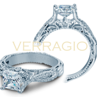 Verragio VENETIAN-5003 0.25ctw Diamond Engagement Ring Setting