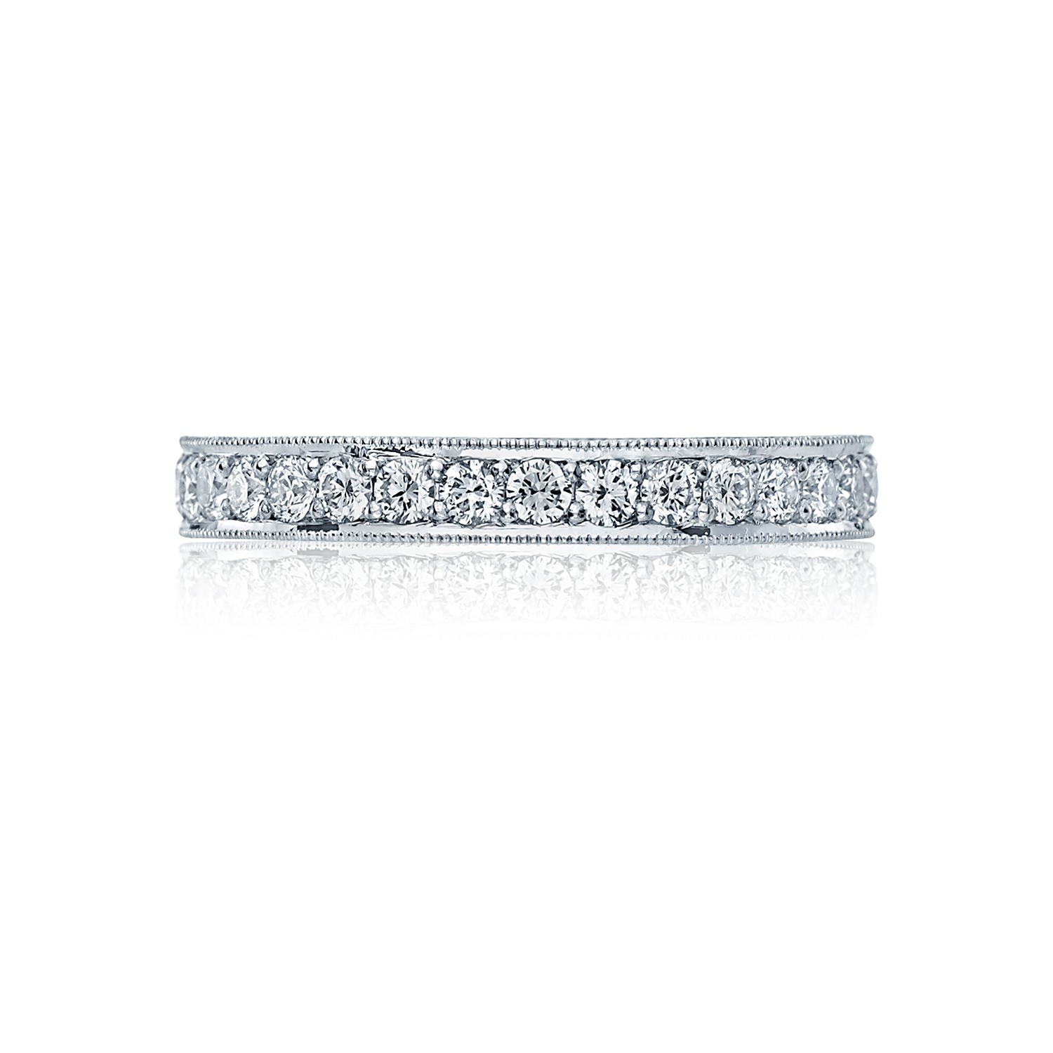tacori royalt ht oval diamond wedding band tacori wedding band Tacori RoyalT HT Diamond Eternity Wedding Band