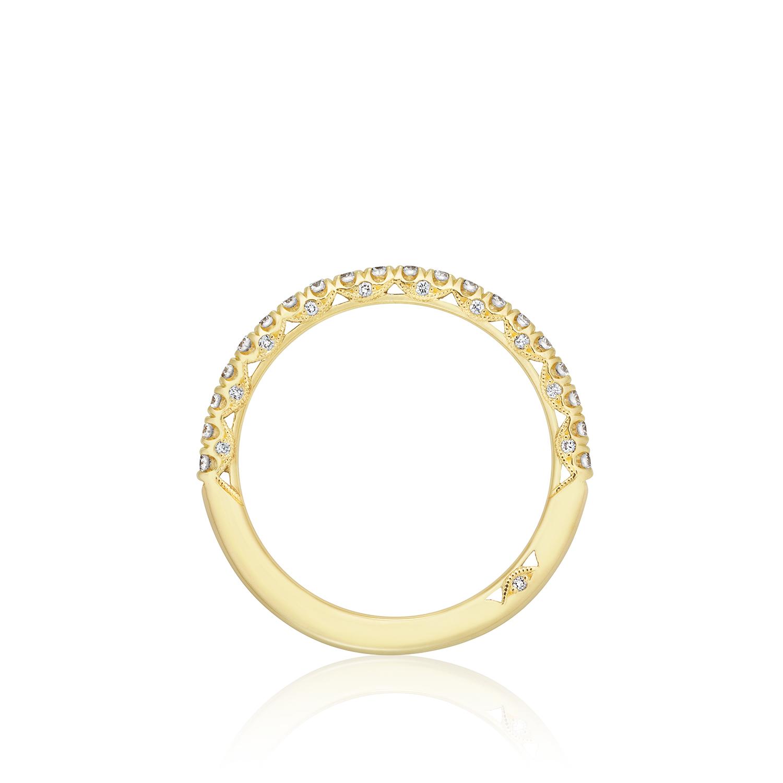Diamond Tacori Bands: Tacori Wedding Bands Gold Diamond 0.37ctw