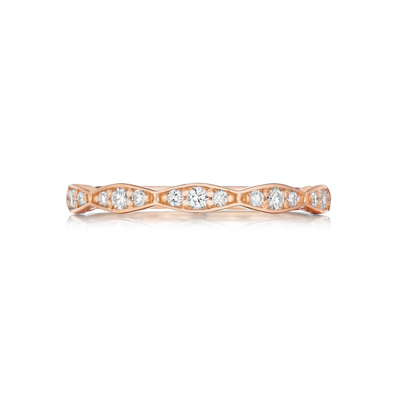 tacori pretty in pink 46 2 diamond wedding pink wedding band tacori engagement rings