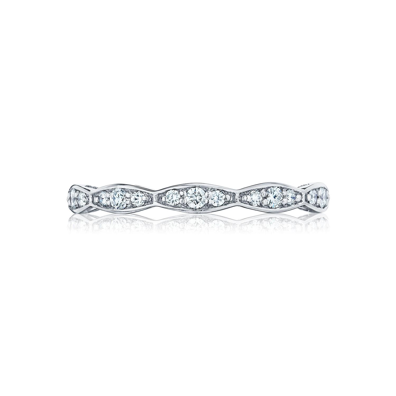 tacori wedding bands sculpted crescent eternity ring
