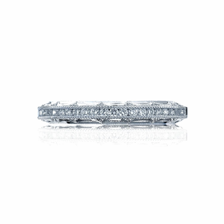 tacori wedding bands reverse crescent 2617 diamond 0 25ctw