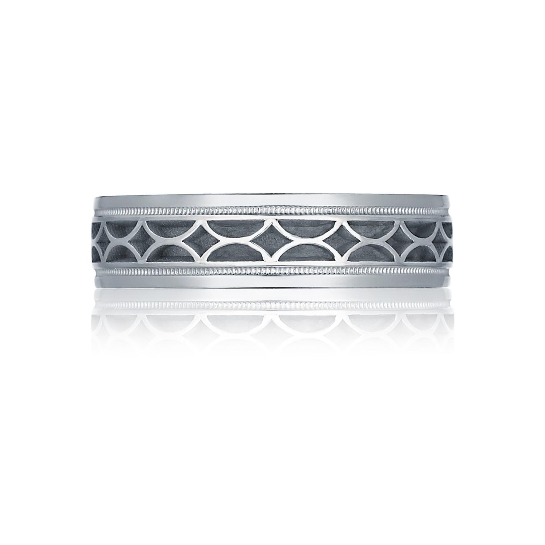 Tacori Wedding Bands Sculpted Crescent 1136w Mens Ring