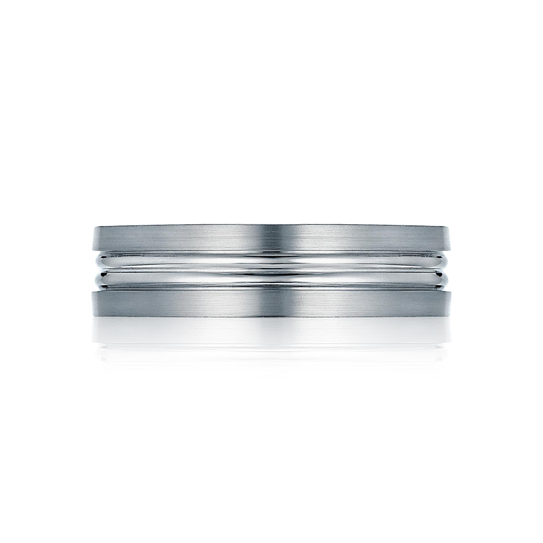 tacori wedding bands crescent satin finish ring