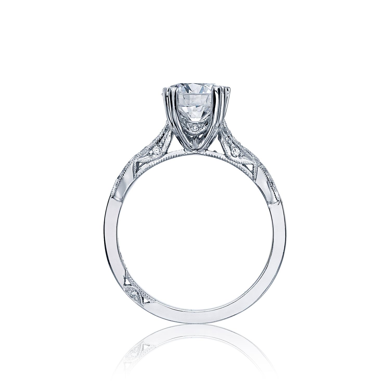 Tacori Ribbon 2573SMRD65W Diamond Solitaire Engagement Ring Setting