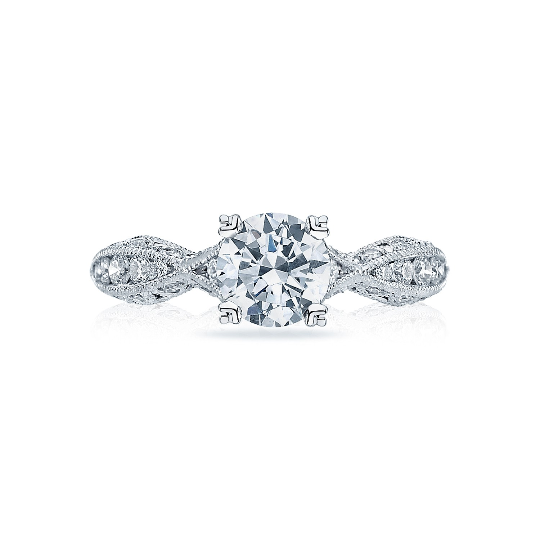 tacori engagement rings classic crescent twist setting