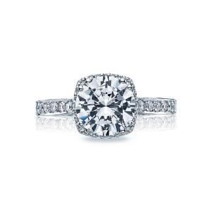 tacori dantela cushion halo engagement ring