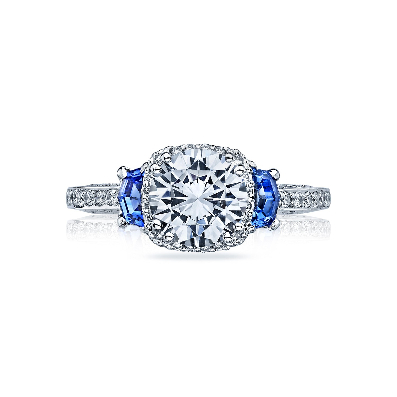 tacori engagement rings dantela halo sapphire setting