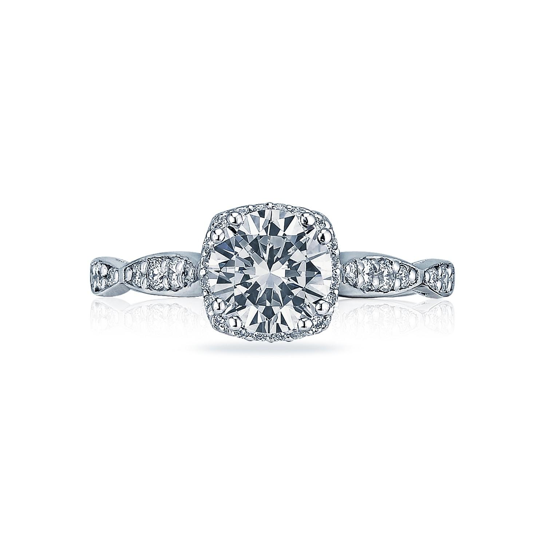 tacori engagement rings dantela diamond ribbon