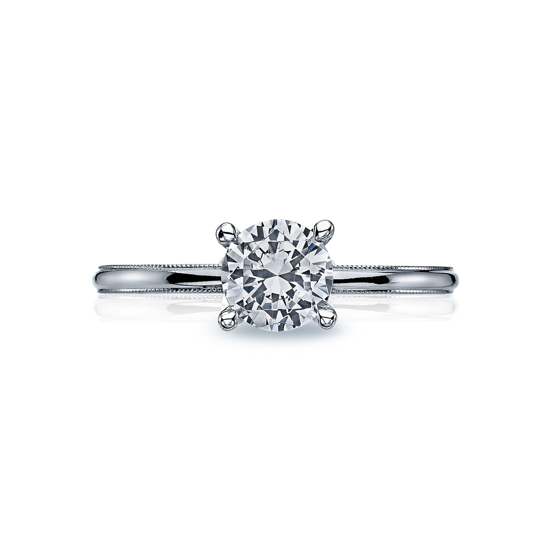 tacori engagement rings sculpted diamond solitaire