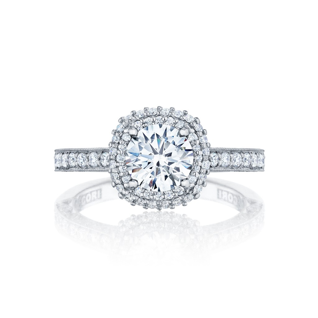Tacori yellow gold engagement rings