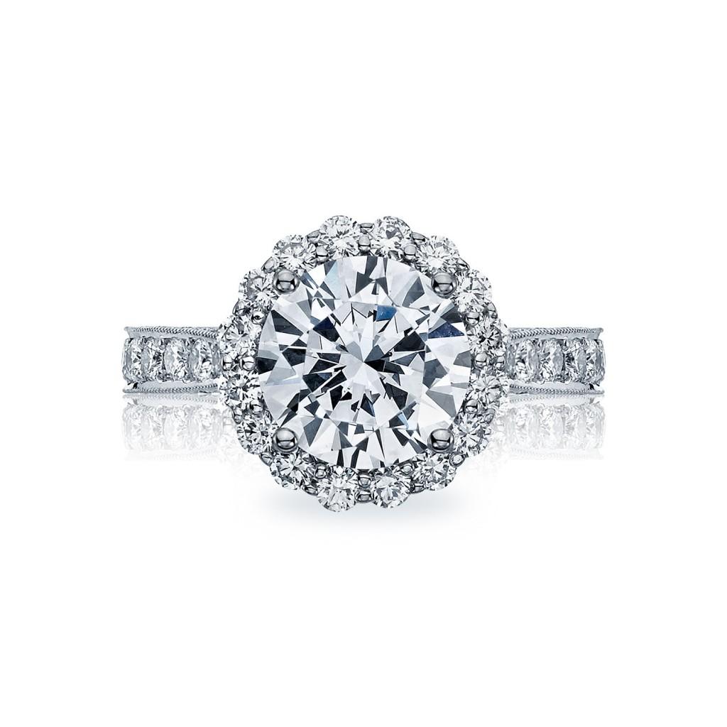 tacori engagement rings royalt diamond halo setting