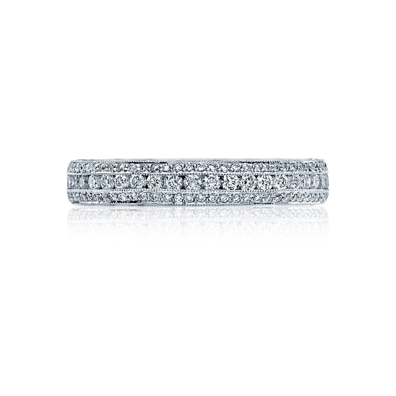 Tacori Wedding Bands Classic Crescent Diamonds