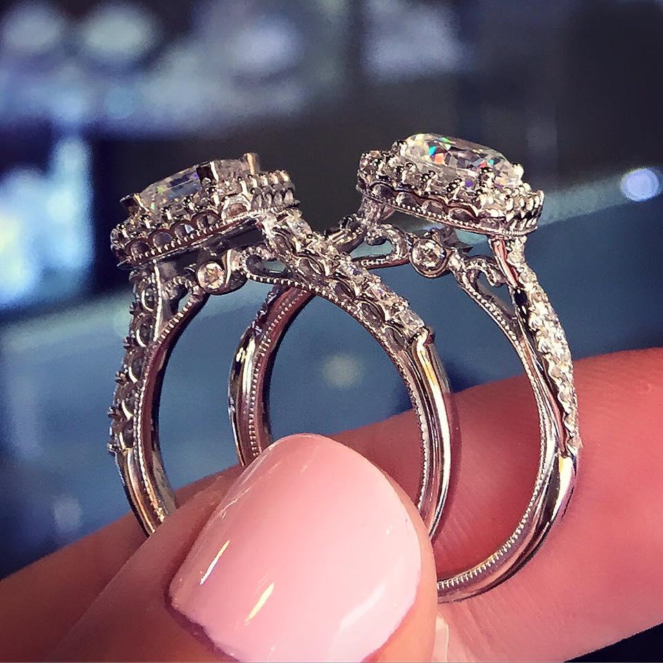 verragio engagement rings classic v 903 p5 setting