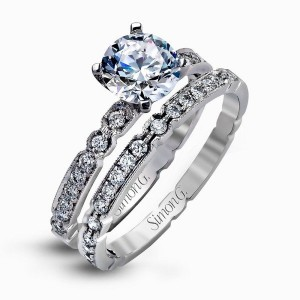 simon g vintage style ring
