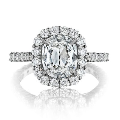 Henri Daussi Engagement Ring