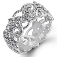 Simon G LP2243 Diamond Duchess Collection Ring