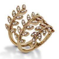 Simon G LP2309 Diamond Garden Collection Ring