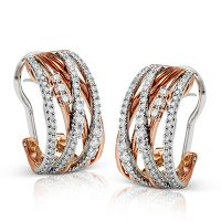 Simon G ME1753 Diamond Fabled Collection Earrings