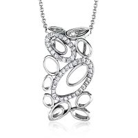 Simon G MP1742 Diamond Fabled Collection Pendant Necklace