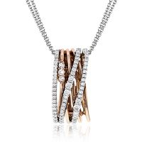 Simon G MP1806 Diamond Fabled Collection Pendant Necklace