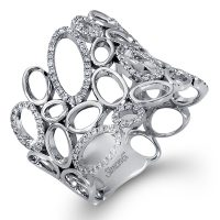 Simon G MR2258 Diamond Fabled Collection Ring