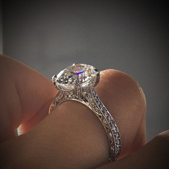 tacori ring south florida wedding