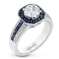 Simon G LR1082 Fabled Collection Diamond Engagement Ring Setting