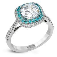 Simon G MR2827-P Caviar Collection Diamond Engagement Ring Setting