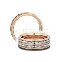 Verragio 7N03 Two Tone 7mm Mens Wedding Band