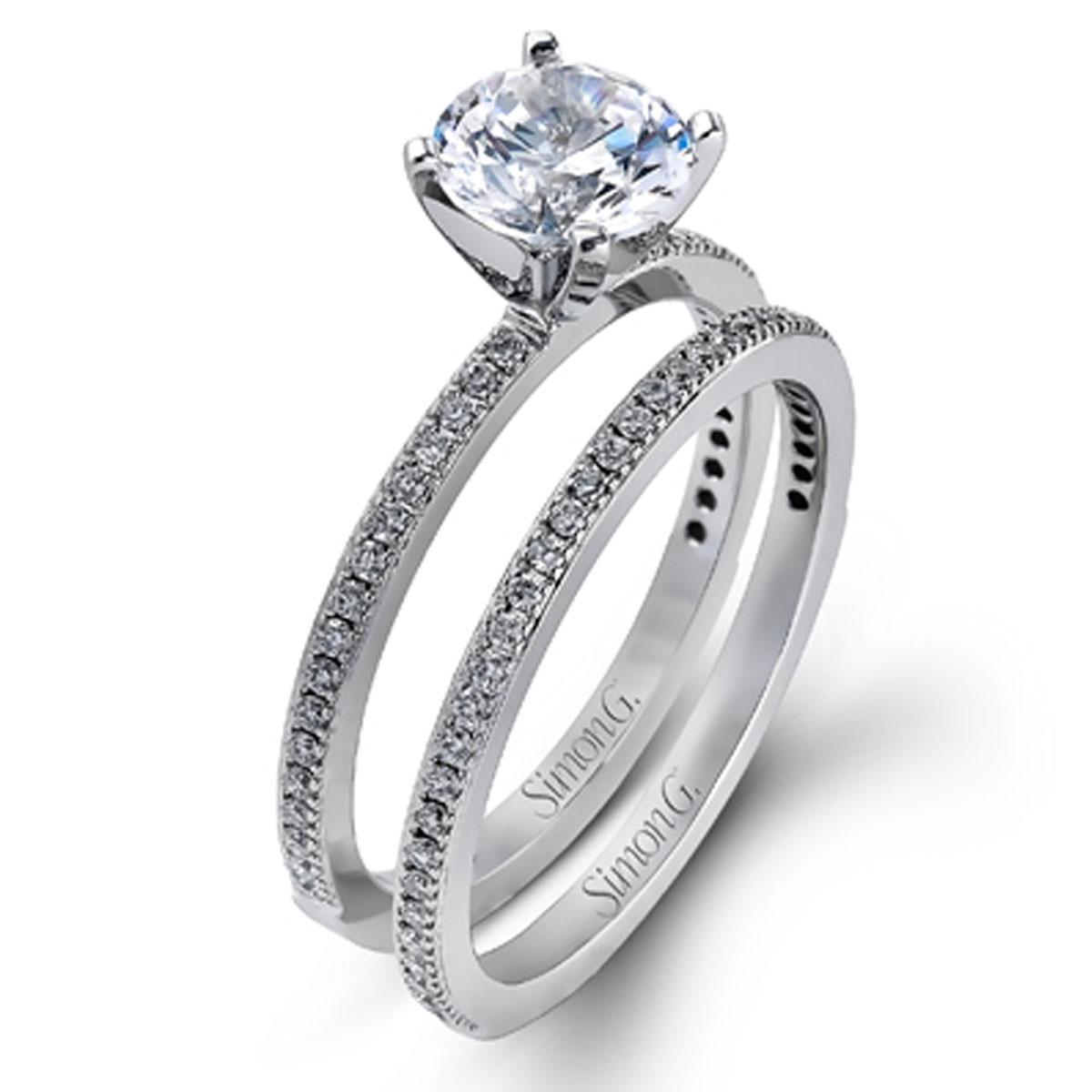Simon G Engagement Rings 30ctw Accents Diamond Setting