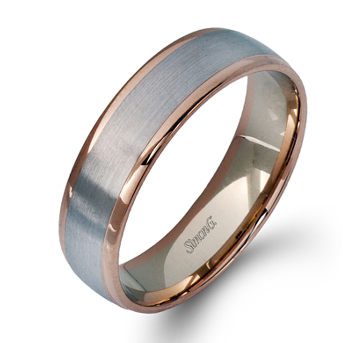 Wedding Band For Men.Simon G Engagement Rings Contemporary Modern Classic Design