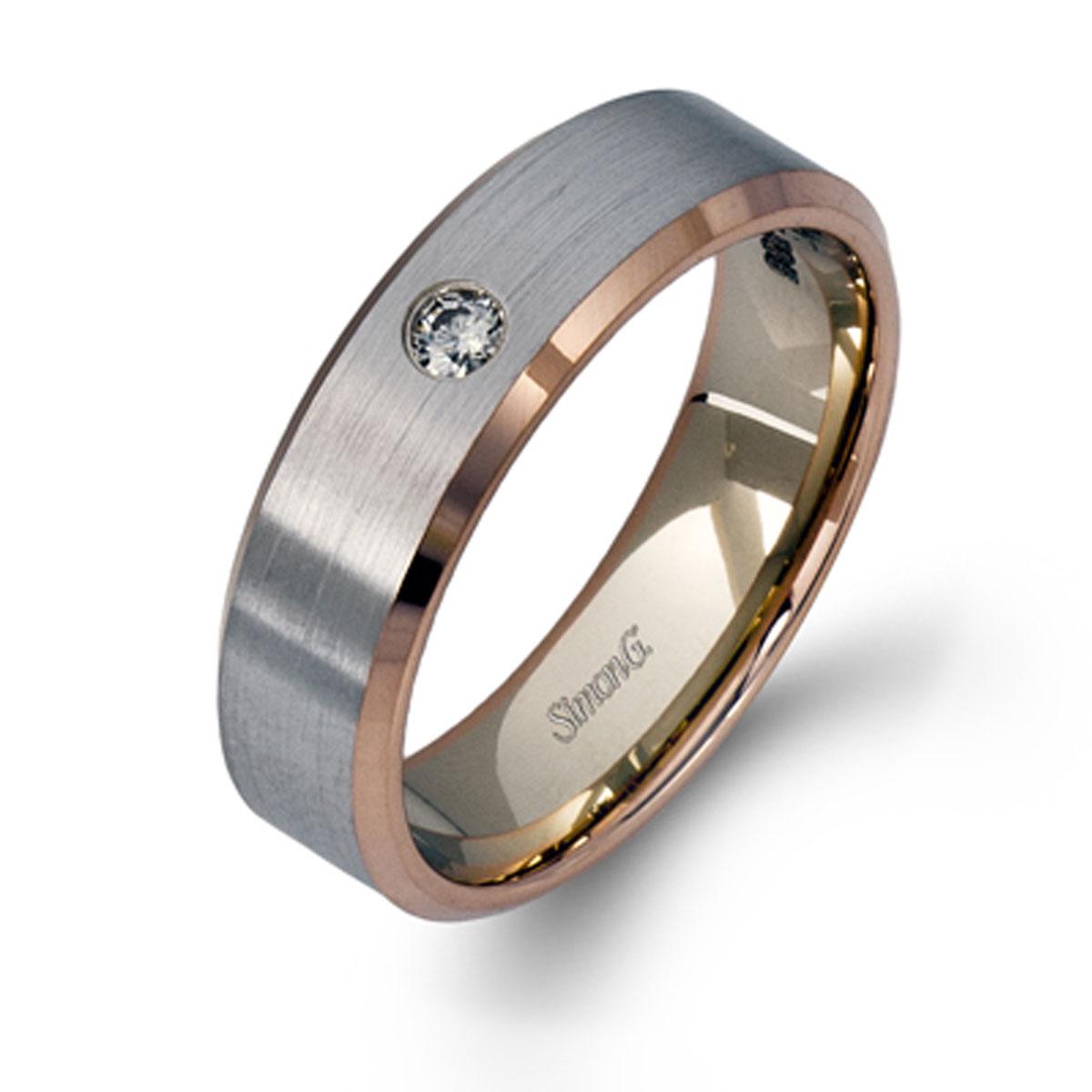 simon g engagement rings .05ctw diamonds modern band