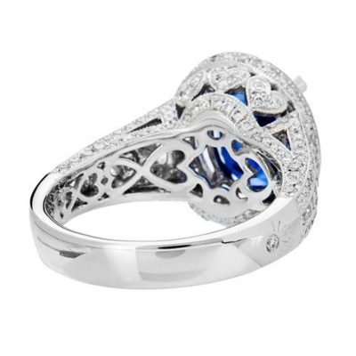 Amor engagement rings