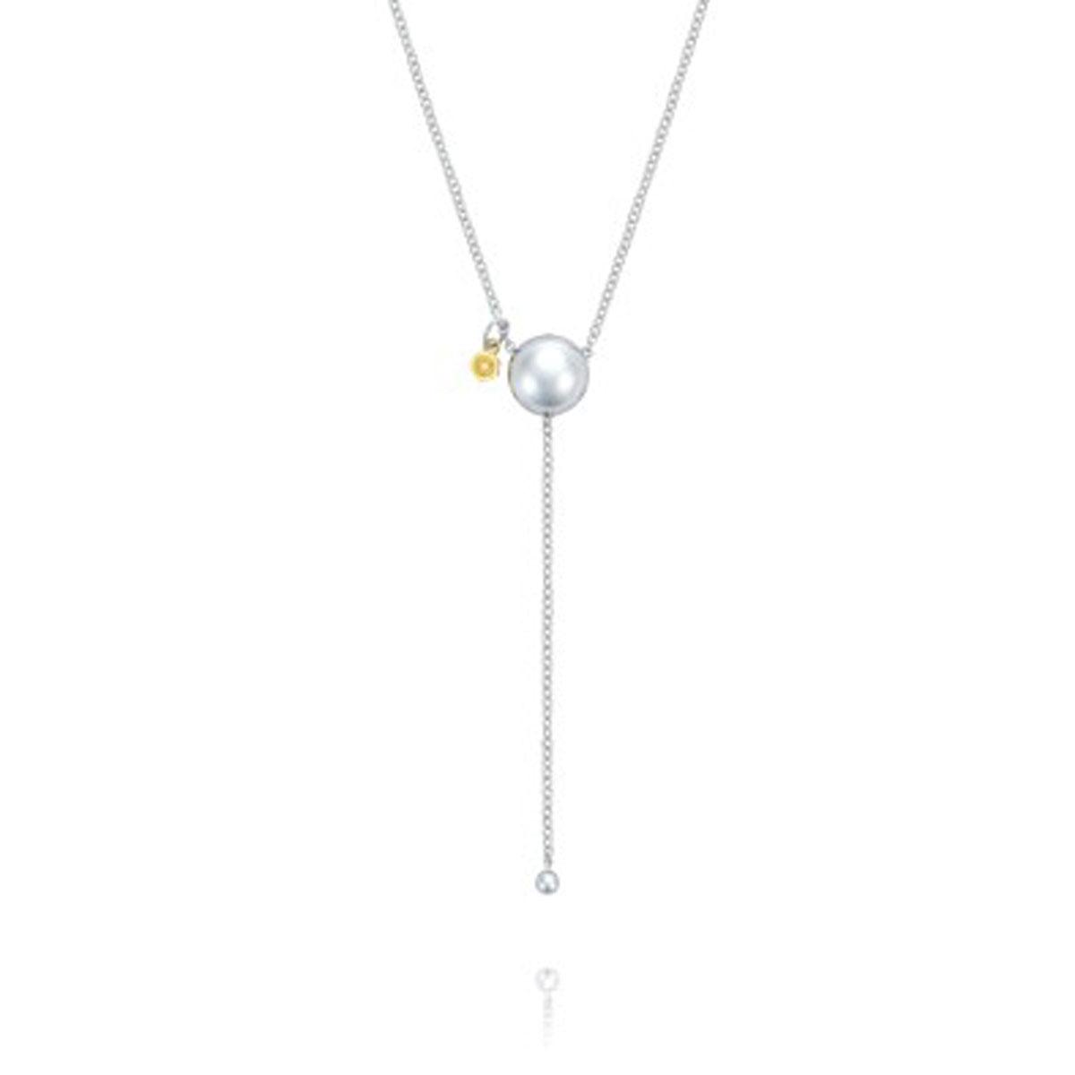 Tacori Sonoma Mist SN212 Silver Dew Drop Lariat Necklace