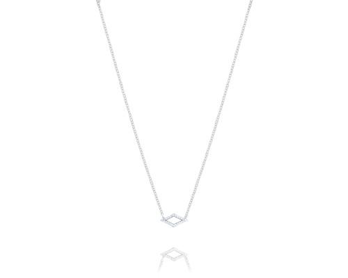 Tacori Ivy Lane SN216 Chevron Pavé Diamond Pendant Necklace