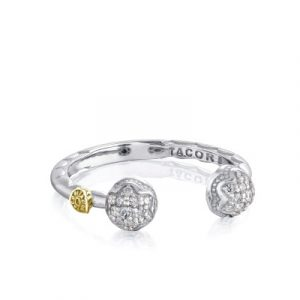 Tacori Sonoma Mist SR209 Diamond Twin Dew Drop Ring