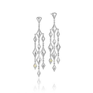 Tacori SE175Y City Lights Silver Reign Chandelier Earrings