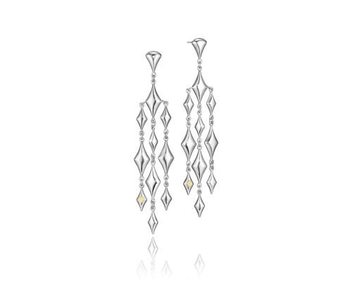 Tacori SE175Y City Lights Silver Reign Chandelier Earrings