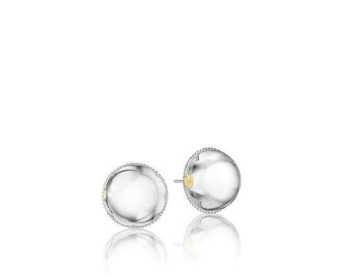 Tacori SE172Y City Lights Bold Silver Stud Earrings