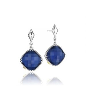 Tacori SE16735 City Lights Checkered Gem Drop Earrings