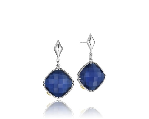 Tacori SE16735 City Lights Checkered Gem Drop Earrings