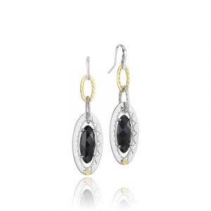 Tacori SE107Y19 Classic Rock Gem Link Earrings