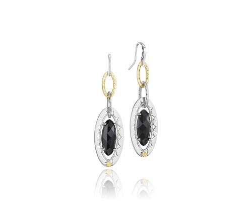 Tacori SE107Y19 Classic Rock Gem Link Earrings