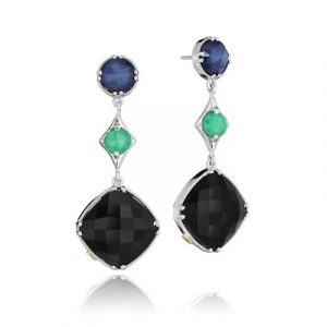 Tacori SE169352719 City Lights Gem Trio Drop Earrings