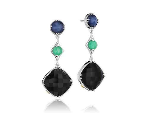 Tacori SE169352719 City Lights Gem Trio Drop Earrings