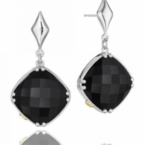 Tacori SE16719 City Lights Checkered Gem Drop Earrings
