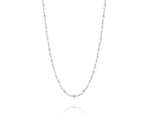 Tacori SN130 Classic Rock Diamond-Shaped Chain Necklace